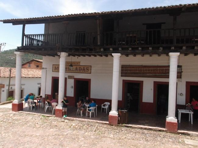 terrasse au mexique