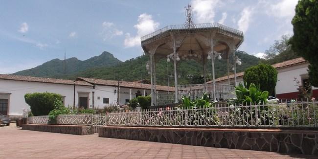 photo du centre du village