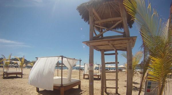 vue de la plage de sayulita