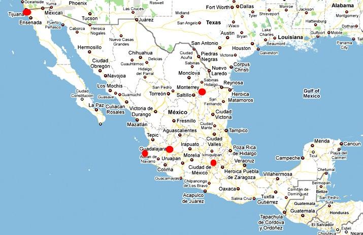 Aeroport Mexico Centre Ville
