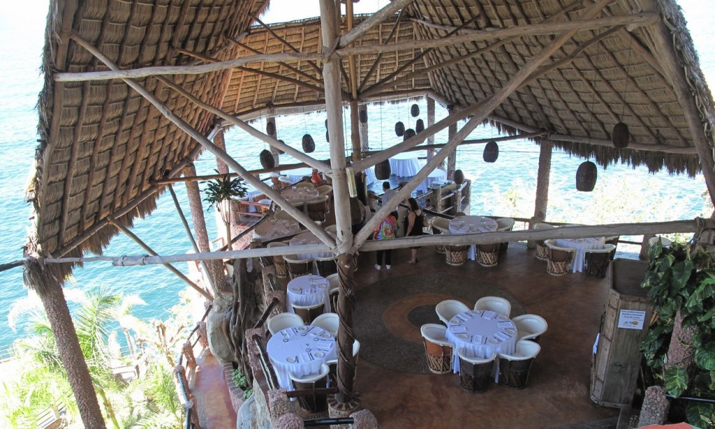 vue du restaurant a puerto vallarta
