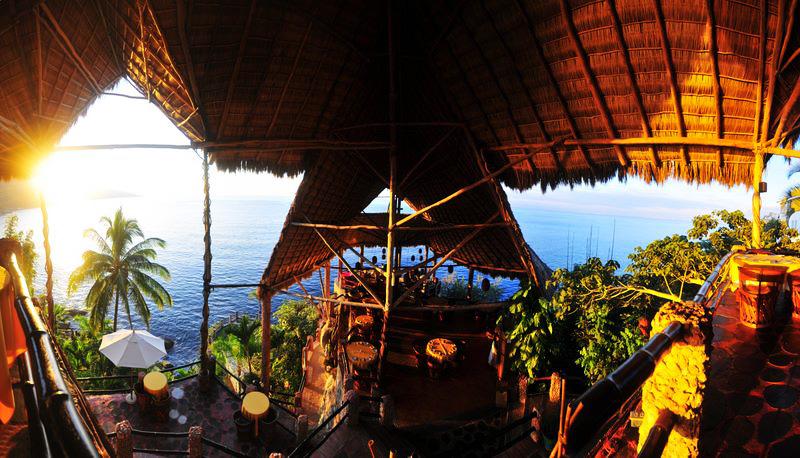 restaurant sur la mer