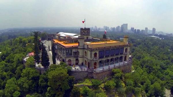 chateau chapultepec mexico
