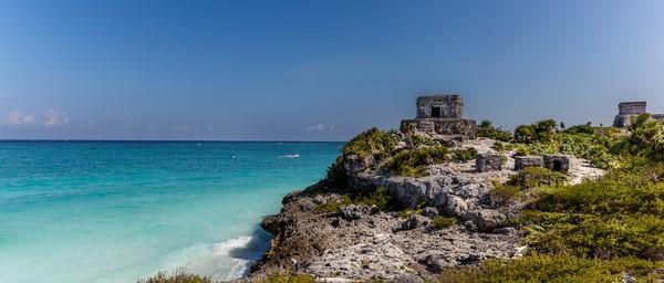 cité maya tulum a mexique